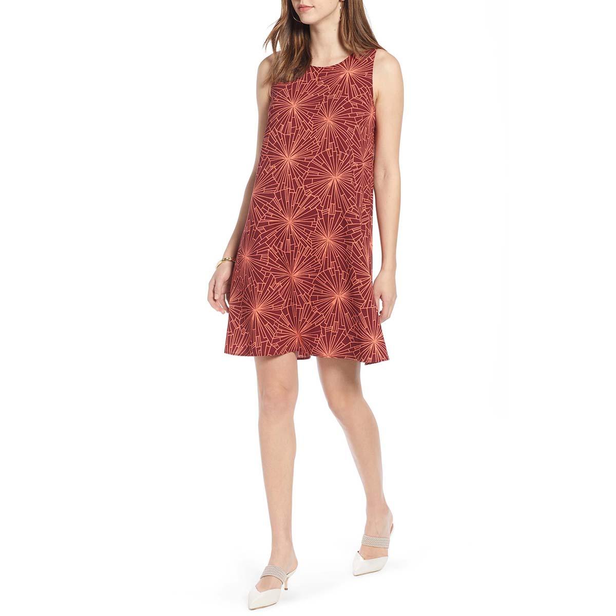 Halogen dress red