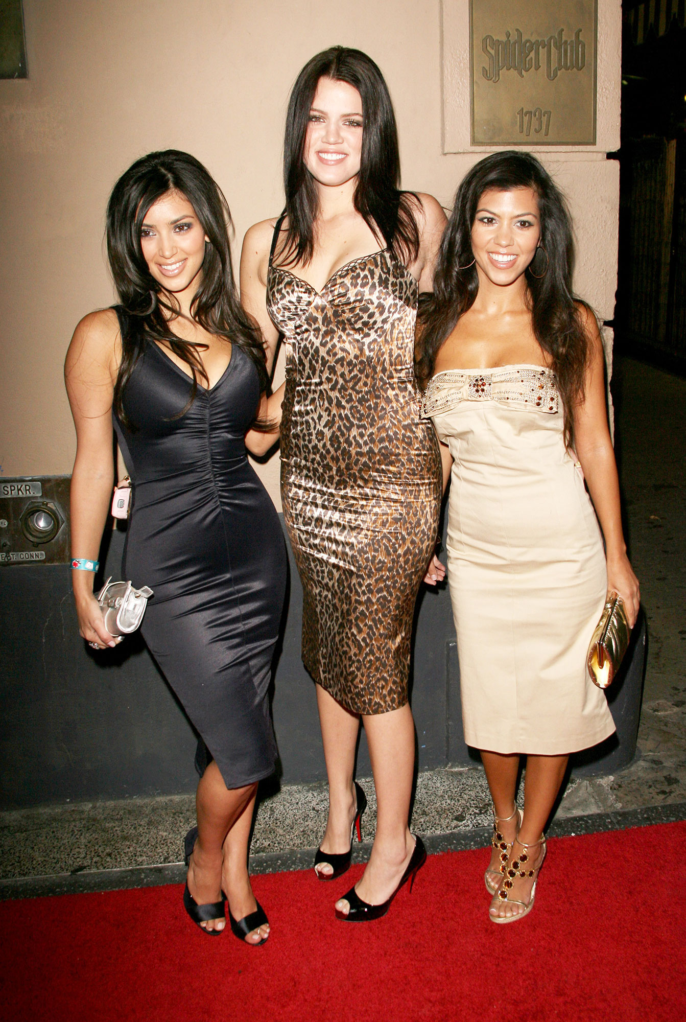 Happy 40th Birthday, Kourtney Kardashian - Kourt made the case for matching your bejeweled dress to your bejeweled sandals at the Midsummer Night's Dream party with her siblings.