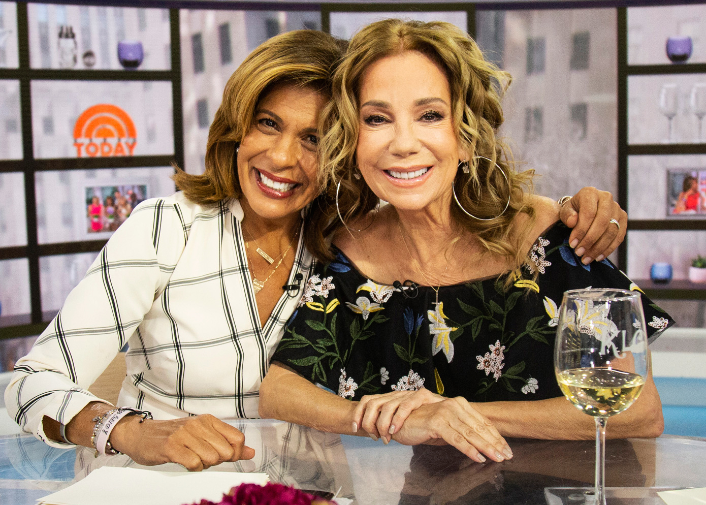 """Hoda-Kotb-and-Kathie-Lee-Gifford - """"Kathie is my dearest friend. She is fearless, determined and just plain fun! Saying I will miss her is an understatement, but all of us here at Today have learned so much from being around her that her legacy will be around for many, many years."""""""