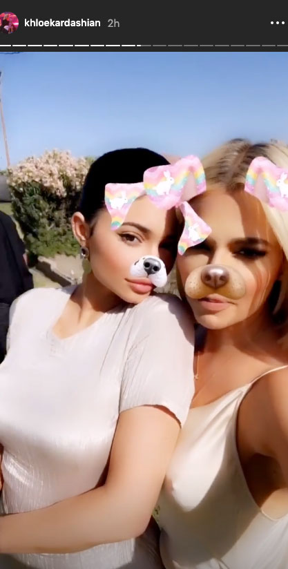Khloe Kardashian How the Celebs are Celebrating Easter
