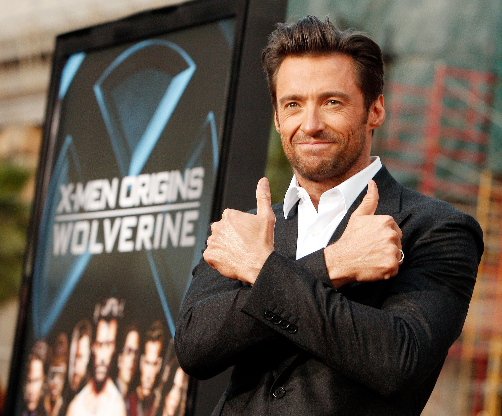 "Hugh Jackman Teachers Before Fame - LOS ANGELES, CA – APRIL 28: Actor Hugh Jackman arrives at the screening 20th Century Fox's ""X-Men Origins: Wolverine"" at the Chinese Theater on April 28, 2009 in Los Angeles, California. (Photo by Kevin Winter/Getty Images)"