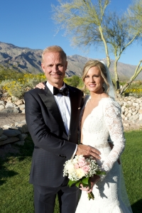 'The Price Is Right' Announcer George Gray Marries Fiancee Brittney Green in Arizona