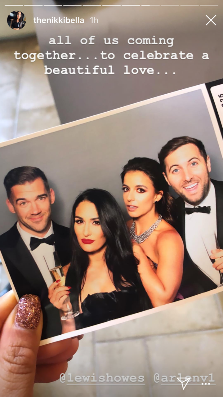 Nikki Bella and Artem Chigvintsev Attend Val Chmerkovskiy and Jenna Johnson's Wedding - Chmerkovskiy and Johnson's wedding featured several familiar faces among the approximately 150 guests.
