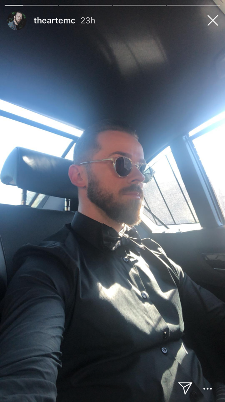 Nikki Bella and Artem Chigvintsev Attend Val Chmerkovskiy and Jenna Johnson's Wedding - Chigvintsev and Bella were comfortable together as they headed to the wedding of their friends.