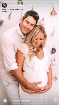 Arie Luyendyk Jr., Lauren Burnham Celebrate Baby Shower, Complete With Ultrasound Machine