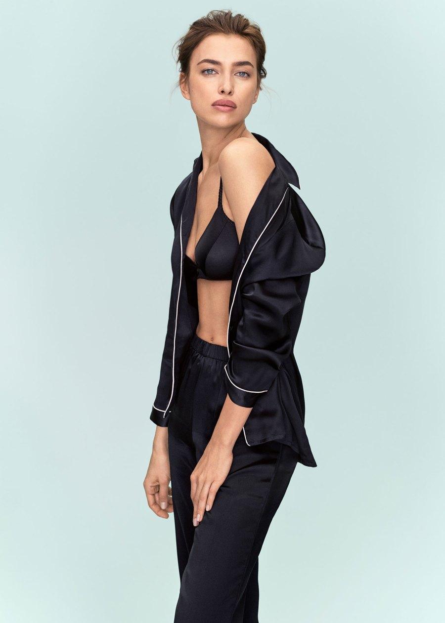 Irina Shayk Stars in Sexy New Intimissimi Silk Lingerie Campaign