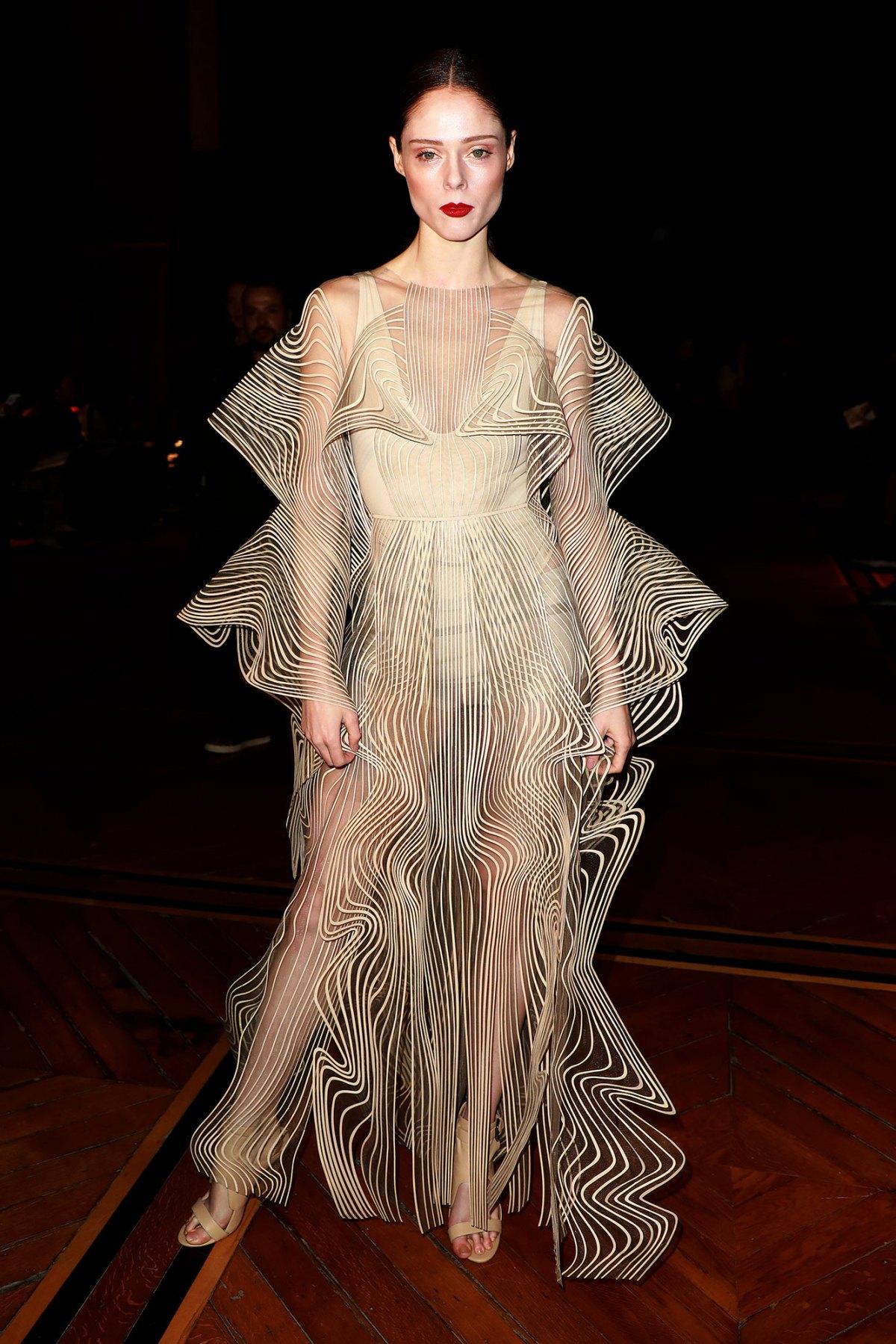 Celebs In Iris Van Herpen Dresses Naomi Campbell More