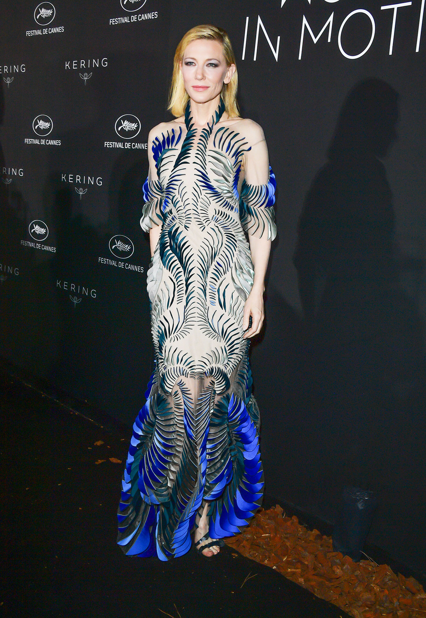 Cate Blanchett Iris van Herpen - In a three-dimensional silk tulle frock last May.