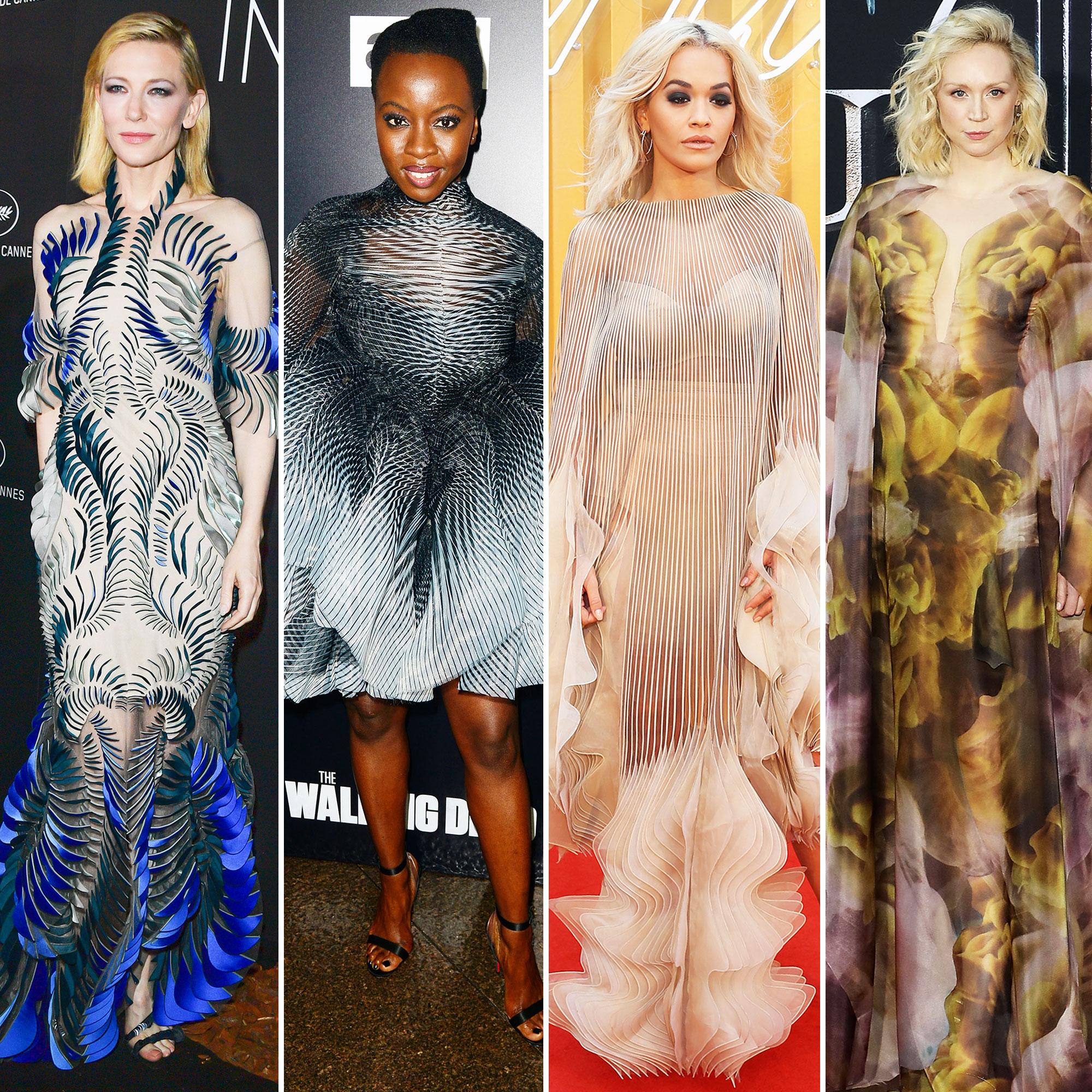 Cate Blanchett, Danai Gurira, Rita Ora, and Gwendoline Christie Stylish Iris van Herpen - Cate Blanchett, Danai Gurira, Rita Ora, and Gwendoline Christie