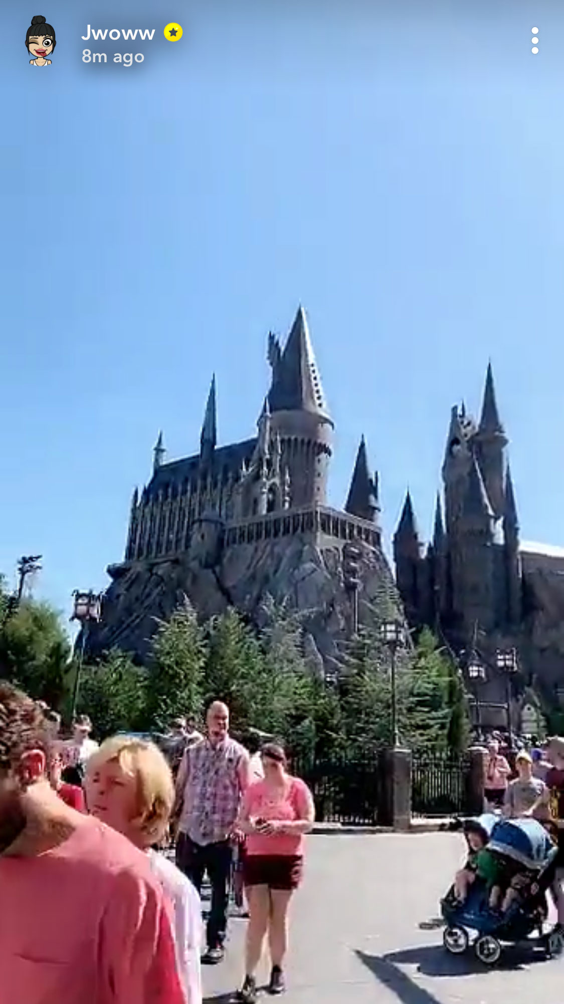 """JWoww's 'Jersey Shore' Pals Show Support for Her New Boyfriend As They Visit Harry Potter World Instagram Jwoww and Zack Clayton Carpinello - Farley said in an Instagram video that she was """"bugging out"""" over returning to Universal Studios after more than a decade."""