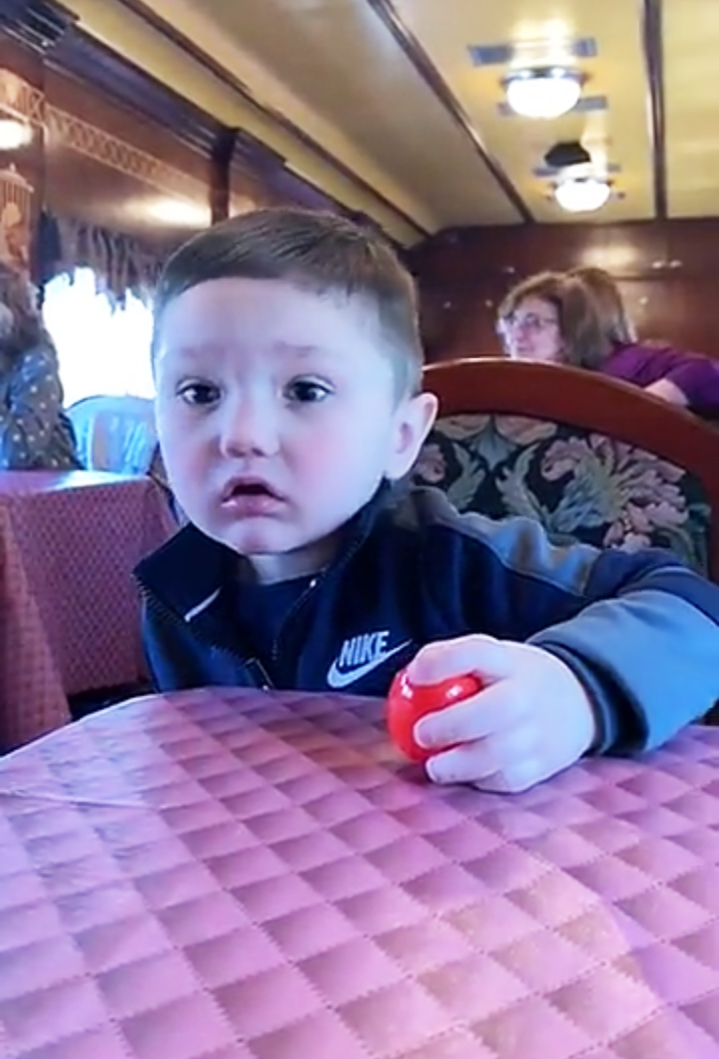 """JWoww and Roger Mathews Reunite for Easter Train Ride With Kids - The Snooki & JWoww alum revealed in November 2018 that her son was diagnosed with autism. """"He's doing amazing,"""" she told Us Weekly in March."""