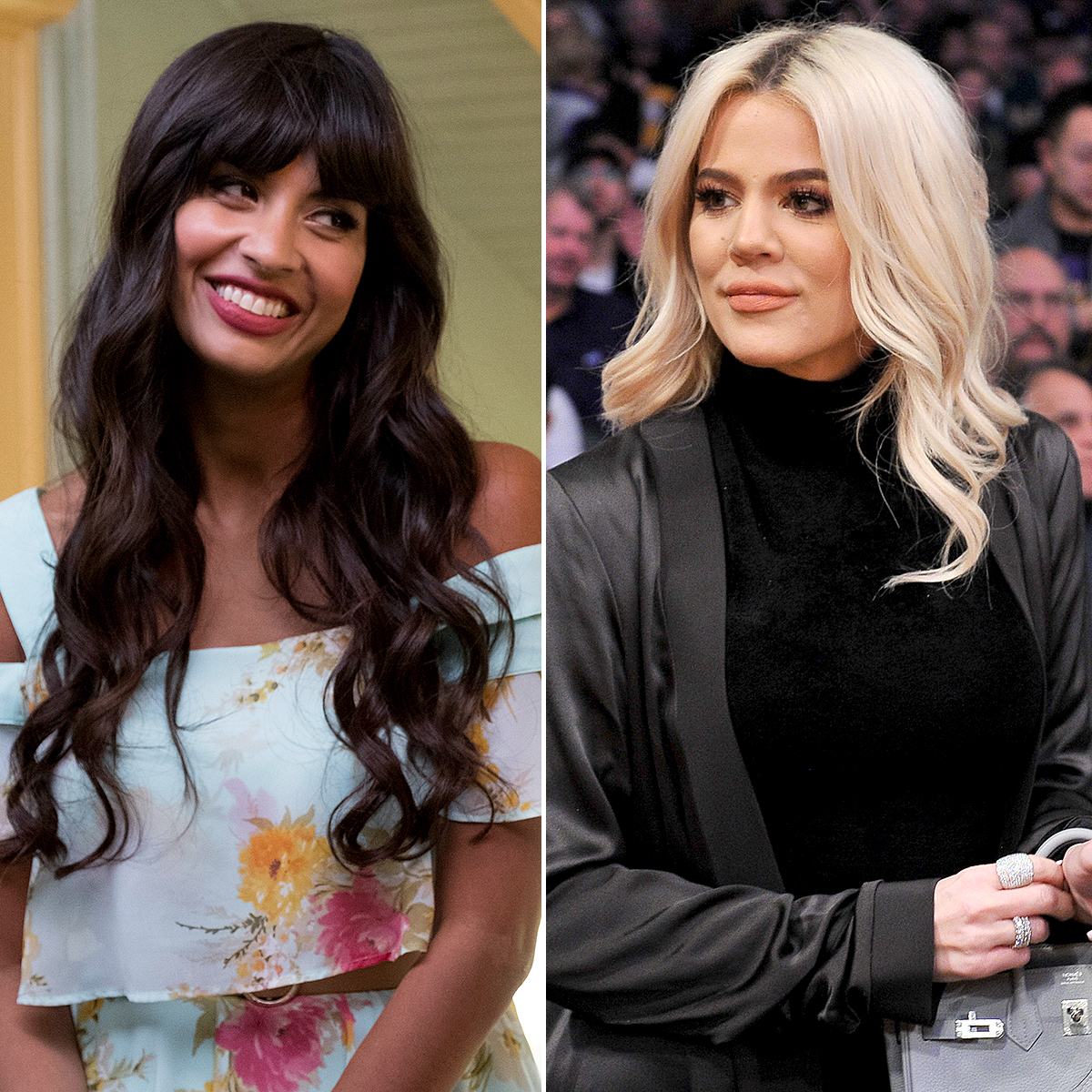 "Jameela-Jamil-Khloe-Kardashian - THE GOOD PLACE — ""Everything is Great!"" Episode 201 — Pictured: Jameela Jamil as Tehani — (Photo by: Colleen Hayes/NBC/NBCU Photo Bank via Getty Images) LOS ANGELES, CALIFORNIA – JANUARY 13: Khloe Kardashian attends a basketball game between the Los Angeles Lakers and the Cleveland Cavaliers at Staples Center on January 13, 2019 in Los […]"