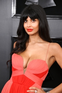 Jameela Jamil Spotlights 'Boob Stretch Marks' Amid Kardashian Feud