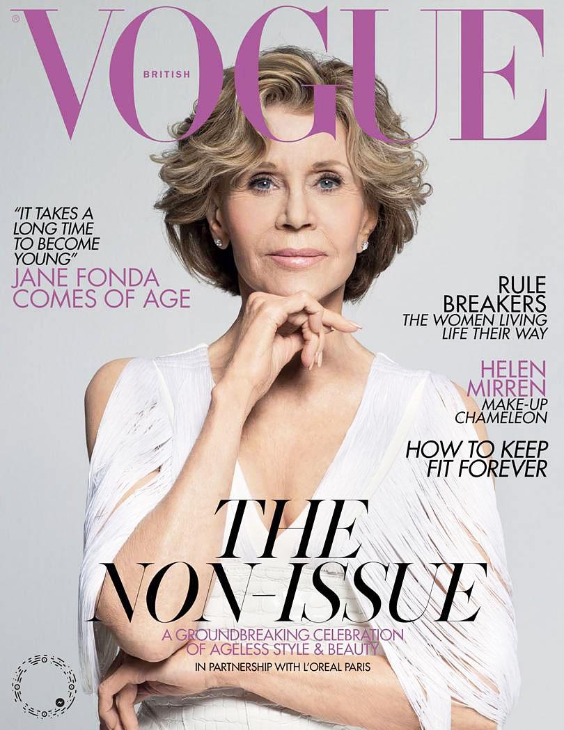 Jane Fonda Cancer Surgery British Vogue Cover