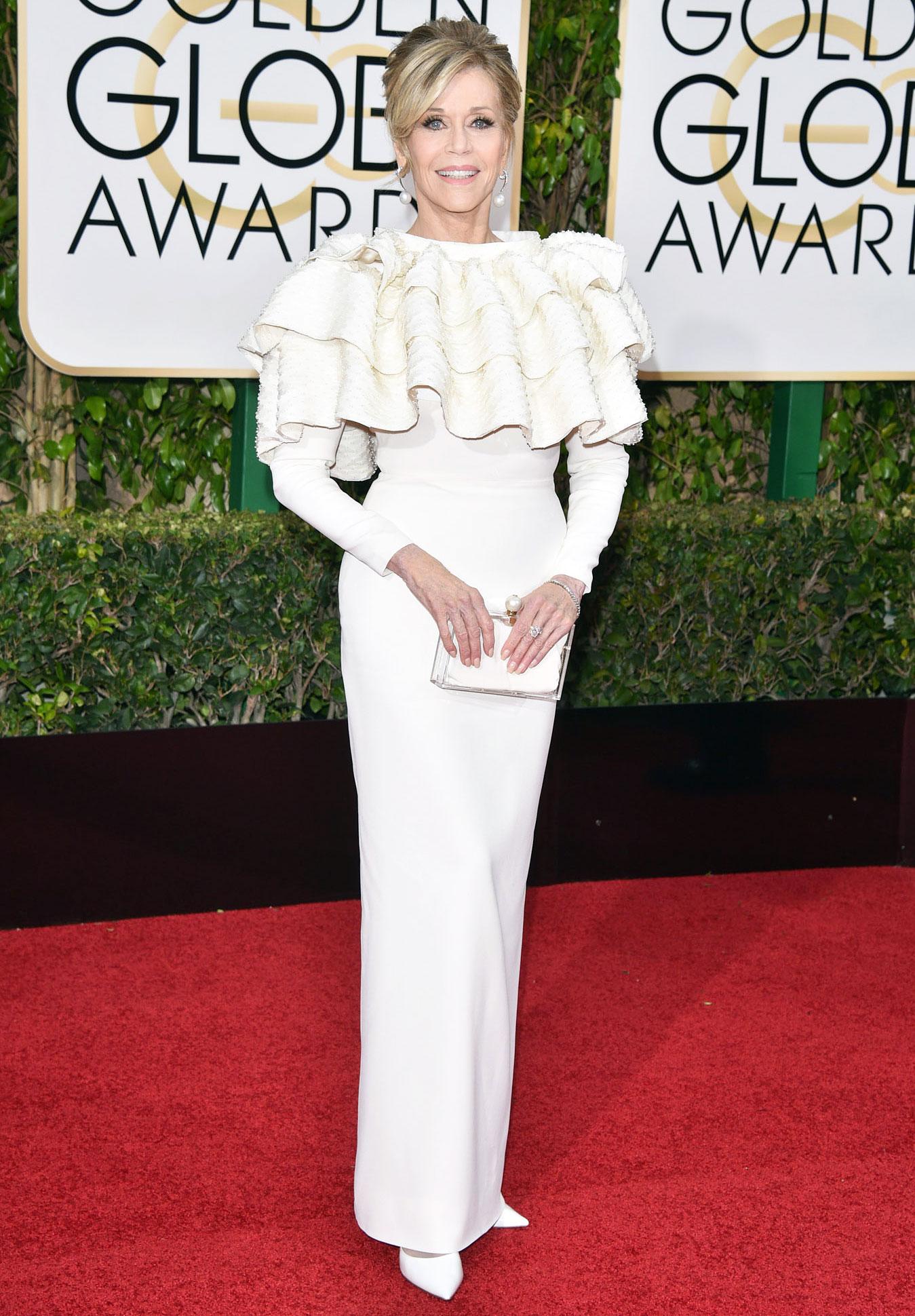 Jane Fonda Cancer Surgery Golden Globes 2016