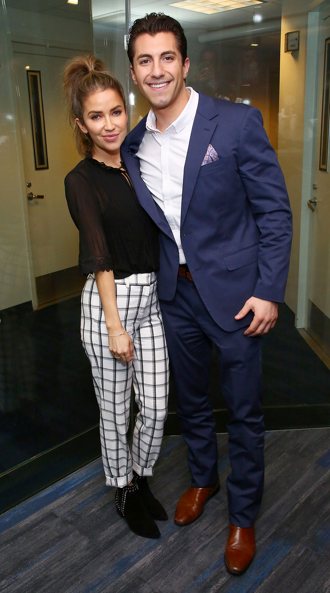 Jason Tartick and Kaitlyn Bristowe - Kaitlyn Bristowe and Jason Tartick visit the SiriusXM Studios on January 30, 2019 in New York City.