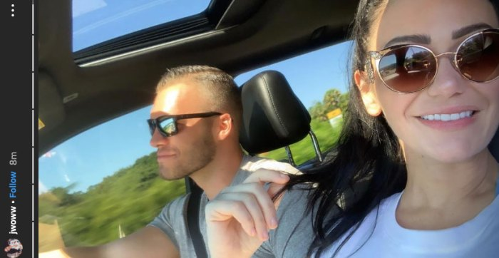 Jenni 'JWoww' Farley Makes Her Relationship With Boyfriend Zack Clayton Carpinello Instagram Official Selfie
