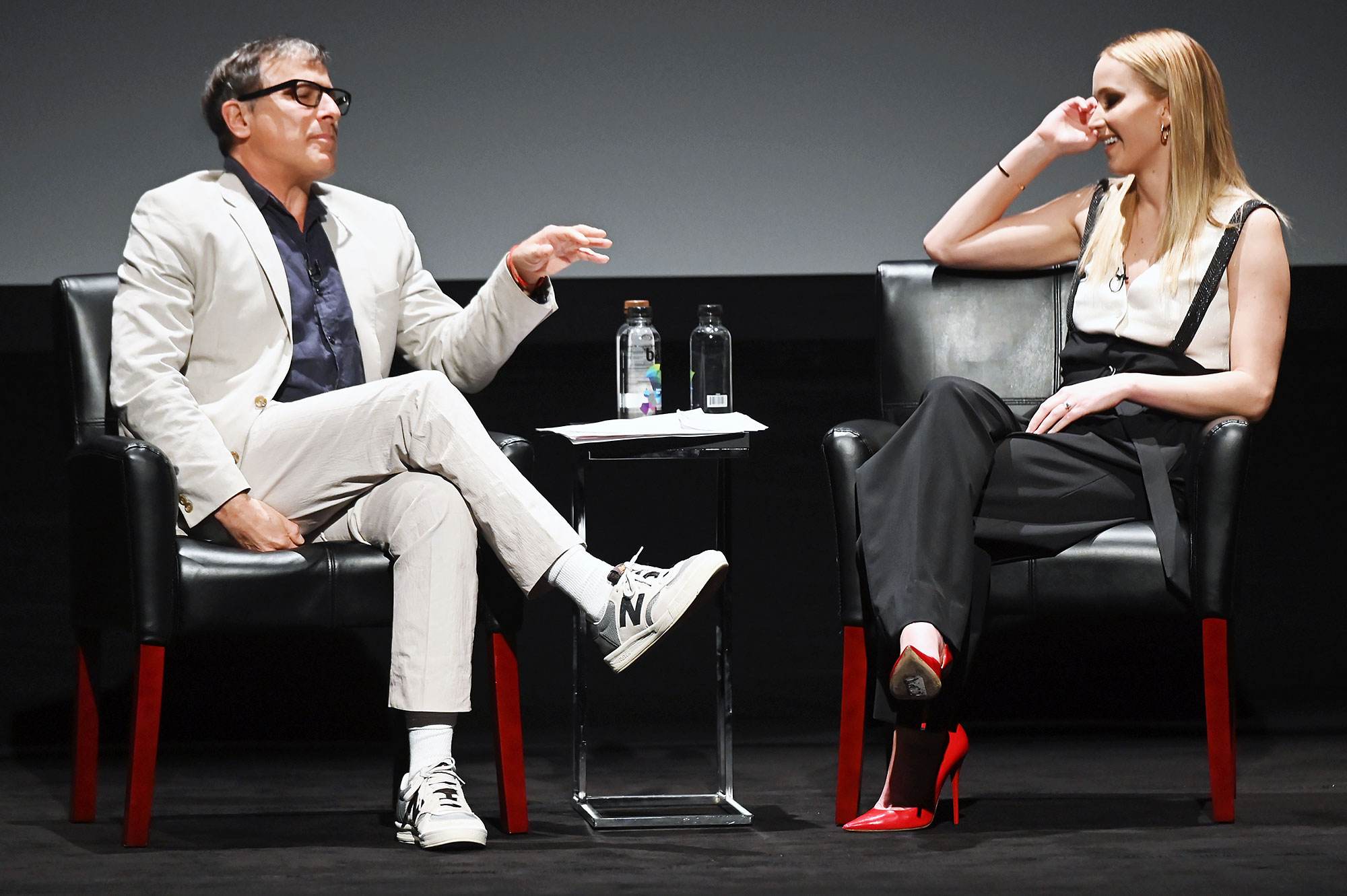 Jennifer Lawrence Darren Aronofsky Joke Cooke Maroney Engagement David O Russell