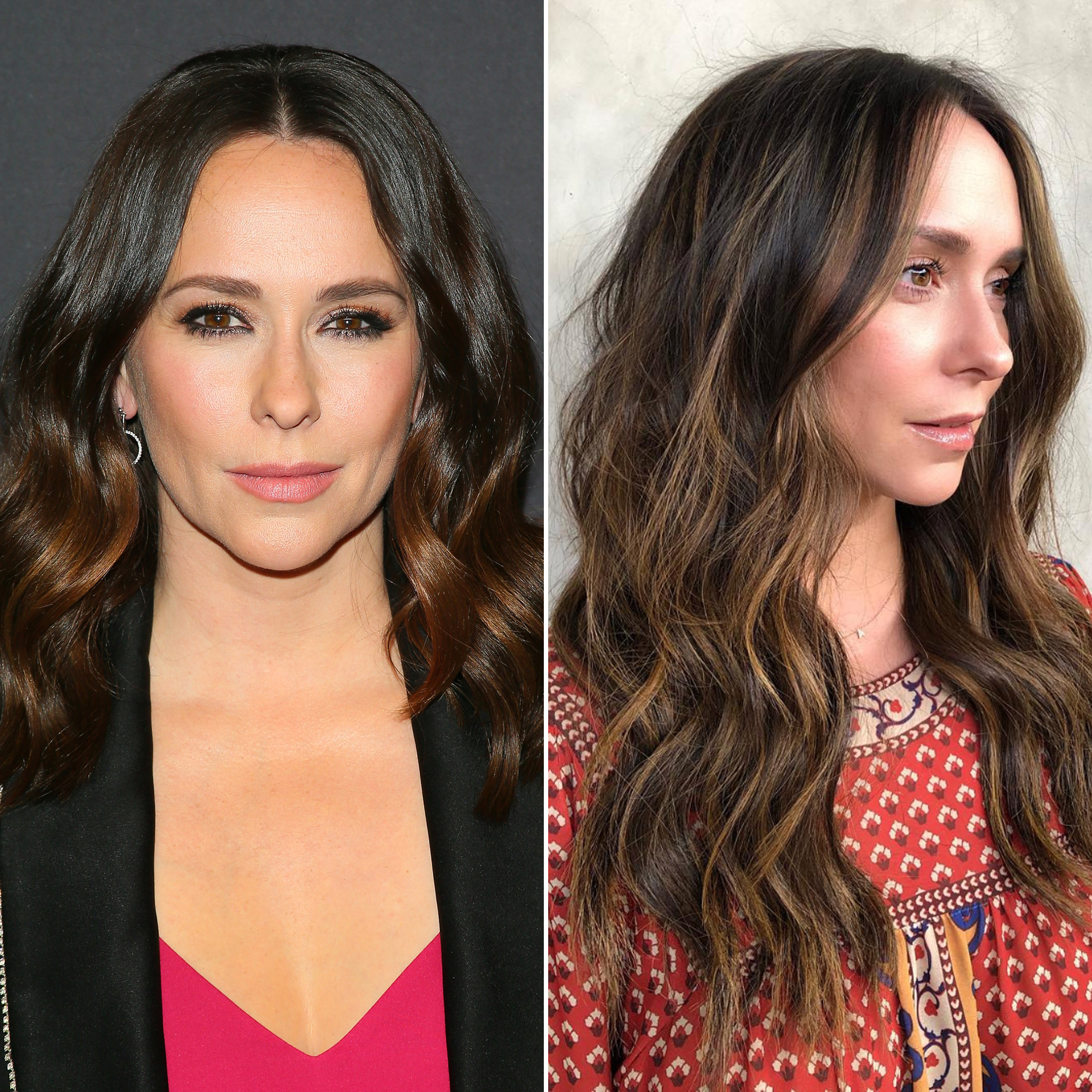 "Jennifer Love Hewitt Sunlit Brunette - Fully embracing the warmer weather, celeb hairstylist Nikki Lee shared on Instagram that she lightened (and lengthened!) the actress' locks. ""I know what you did last summer ... but this summer we're doing 'Sun Lit Brunette' ☀️,"" Lee captioned the pic on Wednesday, April 10."