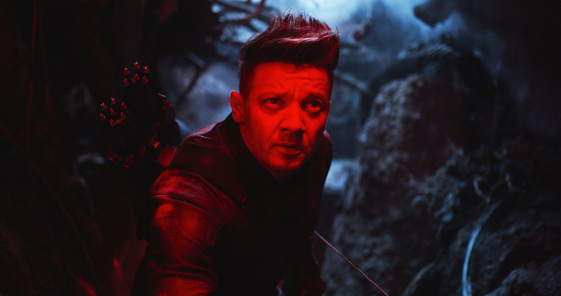 Avengers Endgame Movie Review Jeremy Renner - Jeremy Renner as Hawkeye/Clint Barton in 'Avengers: Endgame.