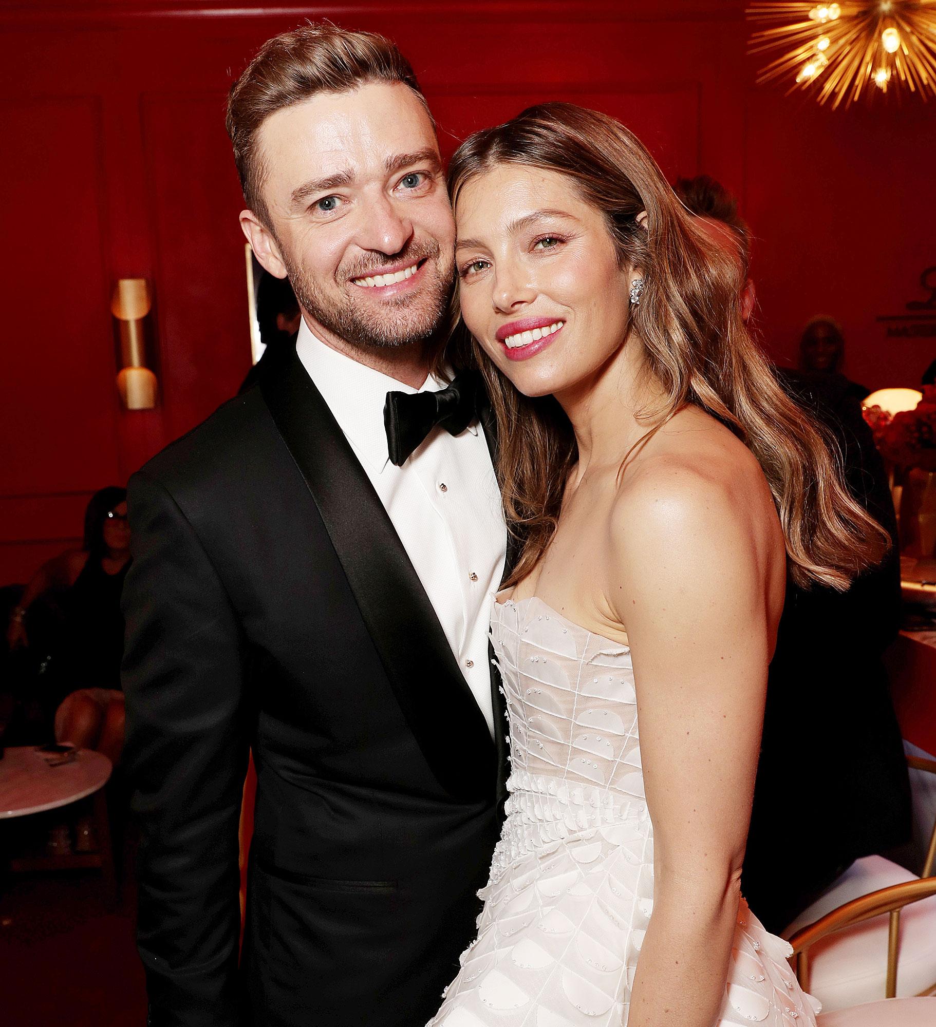Jessica Biel Flirts With Justin Timberlake After Sexy ...