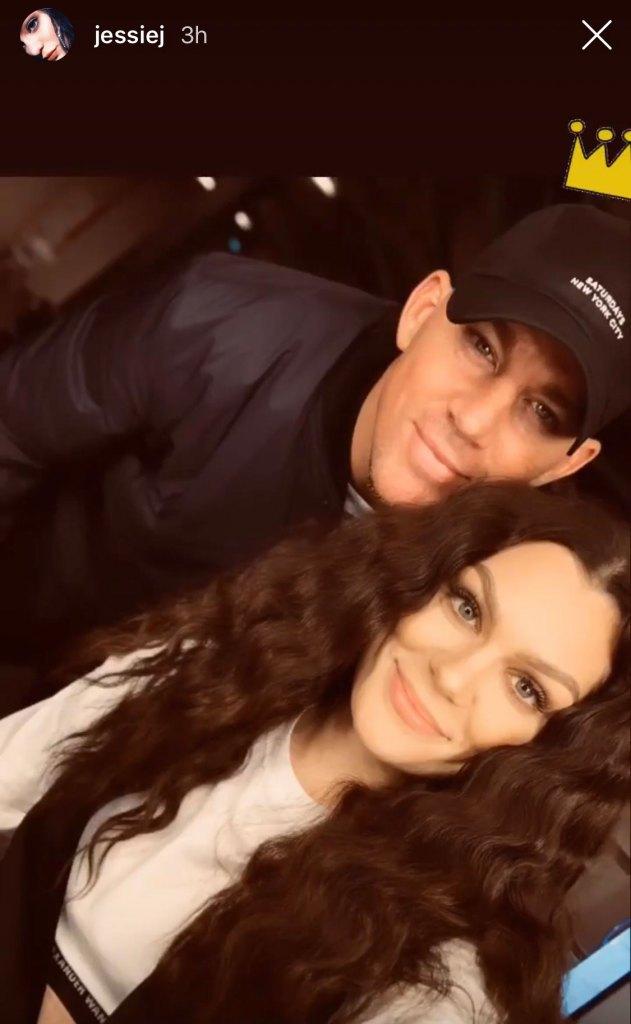 Jessie J Shares Photo With Boyfriend Channing Tatum Selfie
