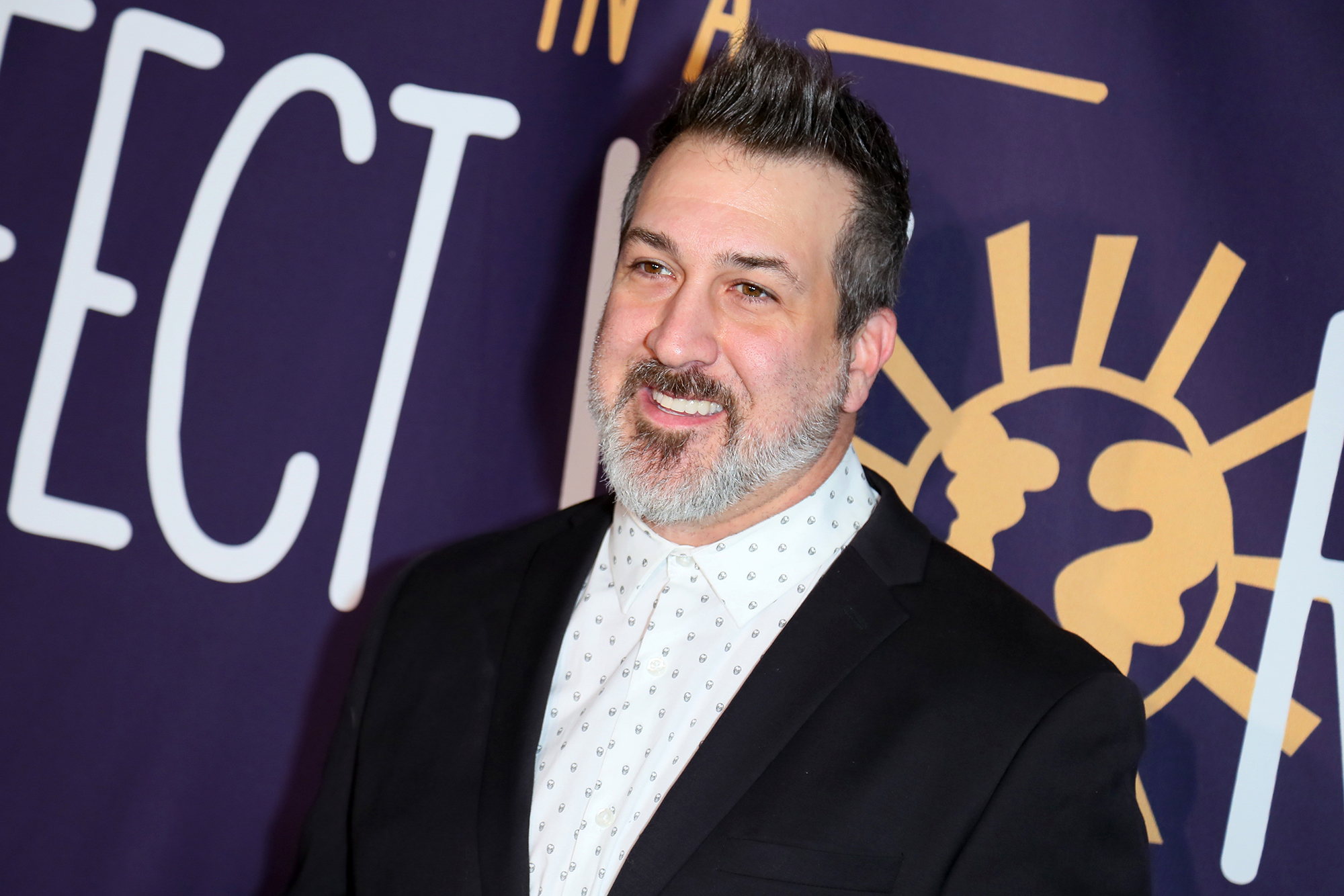 Joey Fatone Speaks About Justin Timeberlake Not at Coachella - Joey Fatone attends Manuela Testolini And Eric Bent Present An Evening Of Music, Art And Philanthropy Benefiting In A Perfect World Honoring Prince at The Jeremy Hotel on March 03, 2019 in West Hollywood, California.