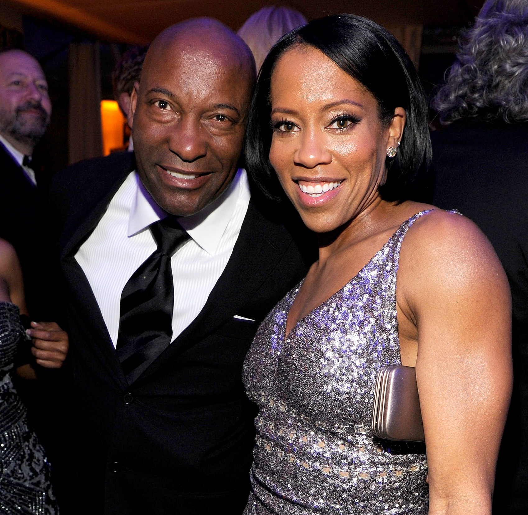 """John-Singleton-and-Regina-King - King shared a throwback photo of herself with the late star. """"Rest In Power, my friend,"""" she wrote on Instagram."""