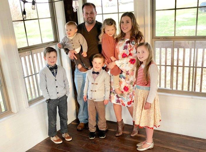 Josh Duggar Anna Duggar Pregnant Family