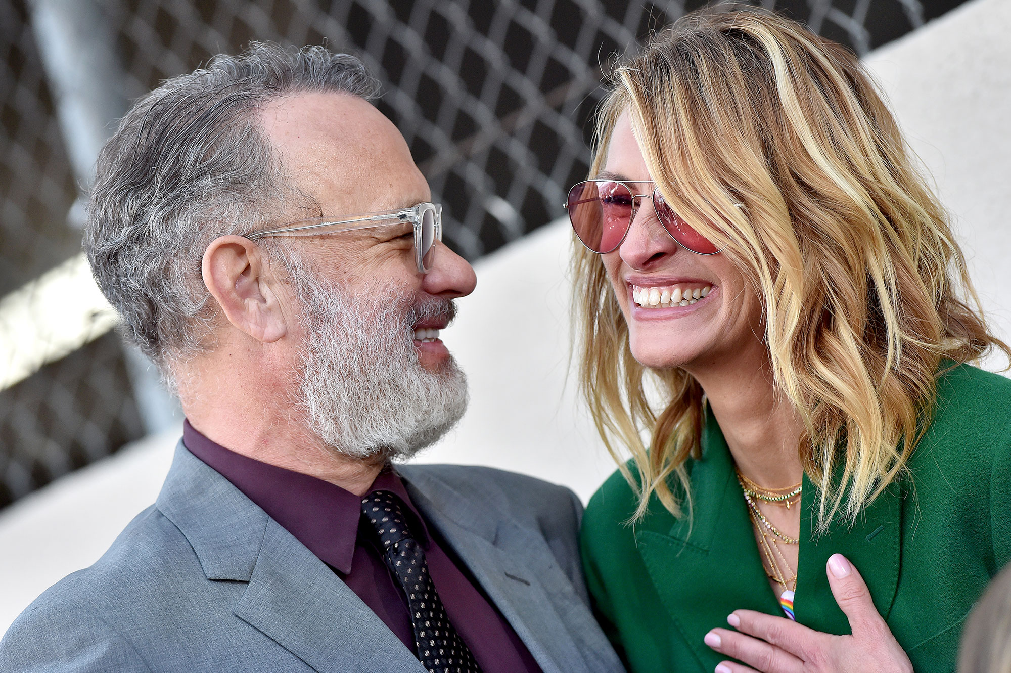 Julia Roberts Calls Tom Hanks 'Super Hot': 'Now Everybody Knows' - Tom Hanks and Julia Roberts attend the ceremony honoring Rita Wilson with Star on the Hollywood Walk of Fame on March 29, 2019 in Hollywood, California.