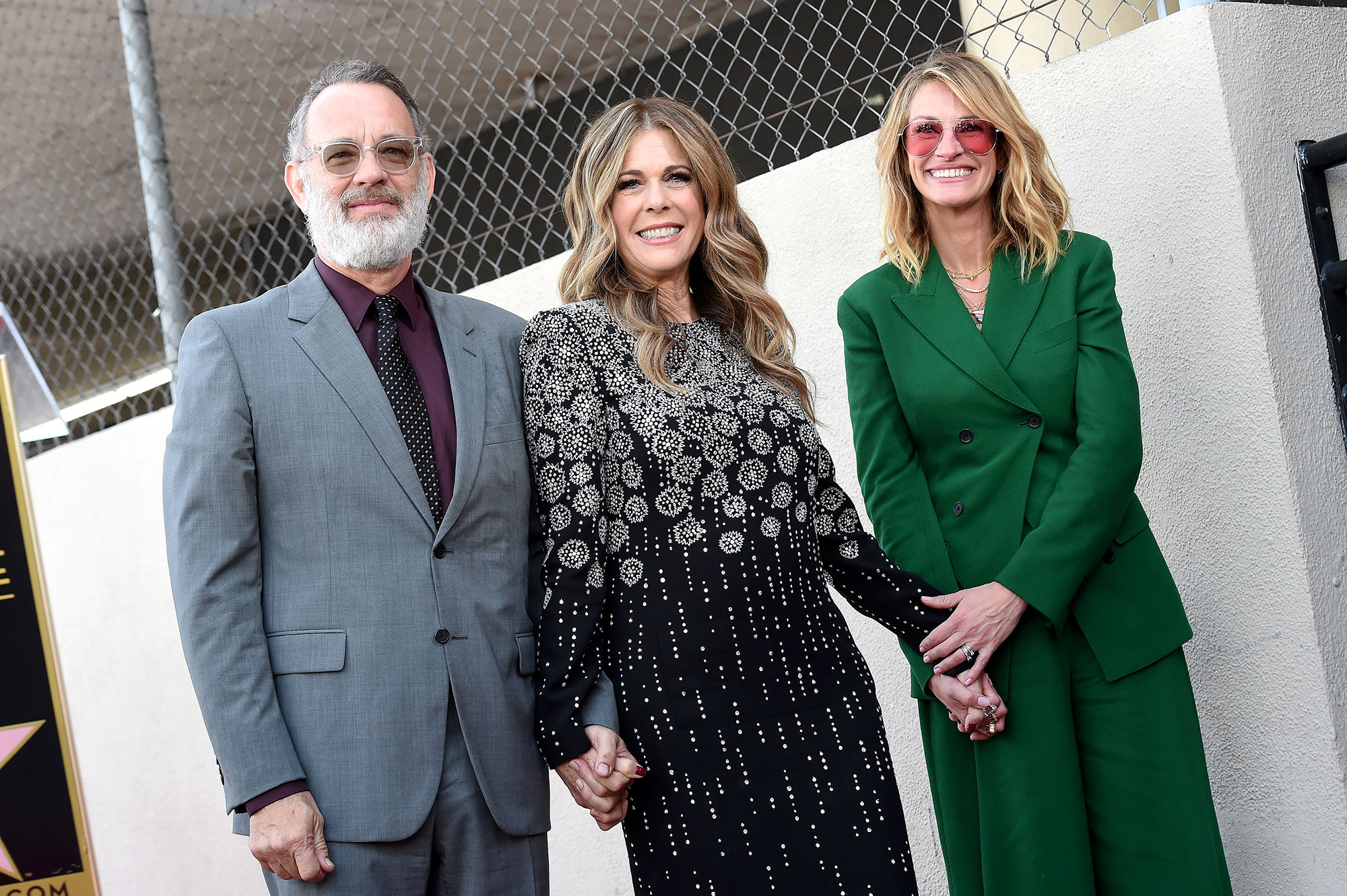 Julia Roberts Calls Tom Hanks 'Super Hot': 'Now Everybody Knows' - the Hollywood Walk of Fame on March 29, 2019 in Hollywood, California.