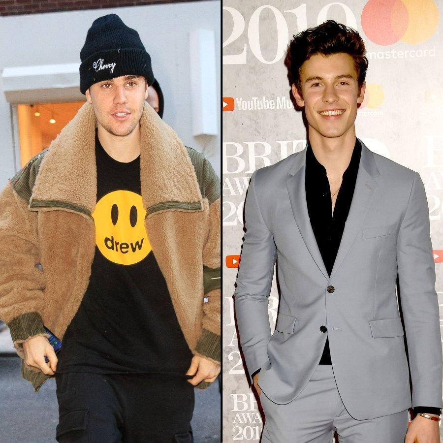 Justin Bieber Pokes Fun at Shawn Mendes Dethroning Him as the Prince of Pop