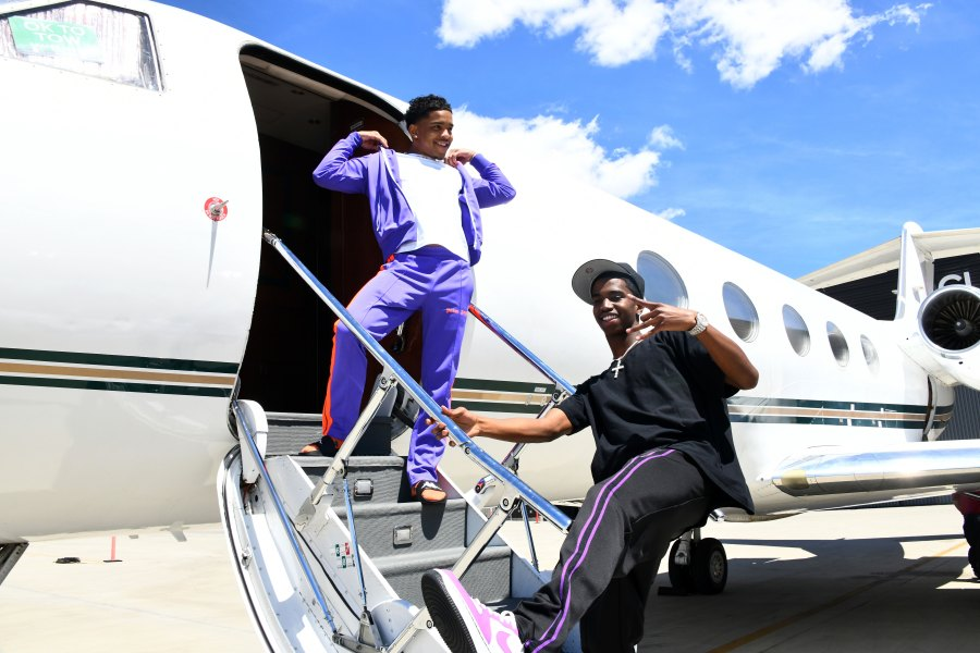 Justin Combs and Christian Combs Coachella 2019