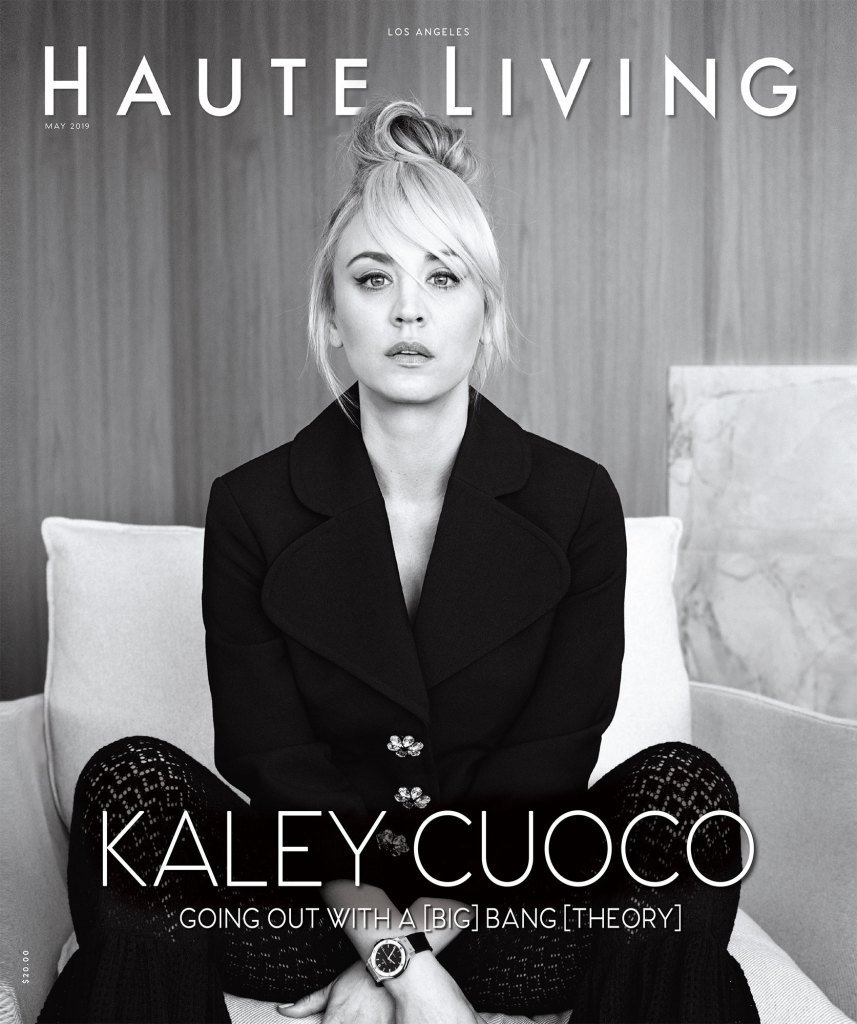 Kaley Cuoco Haute Living Cover Big Bang Theory Johnny Galecki After Breakup