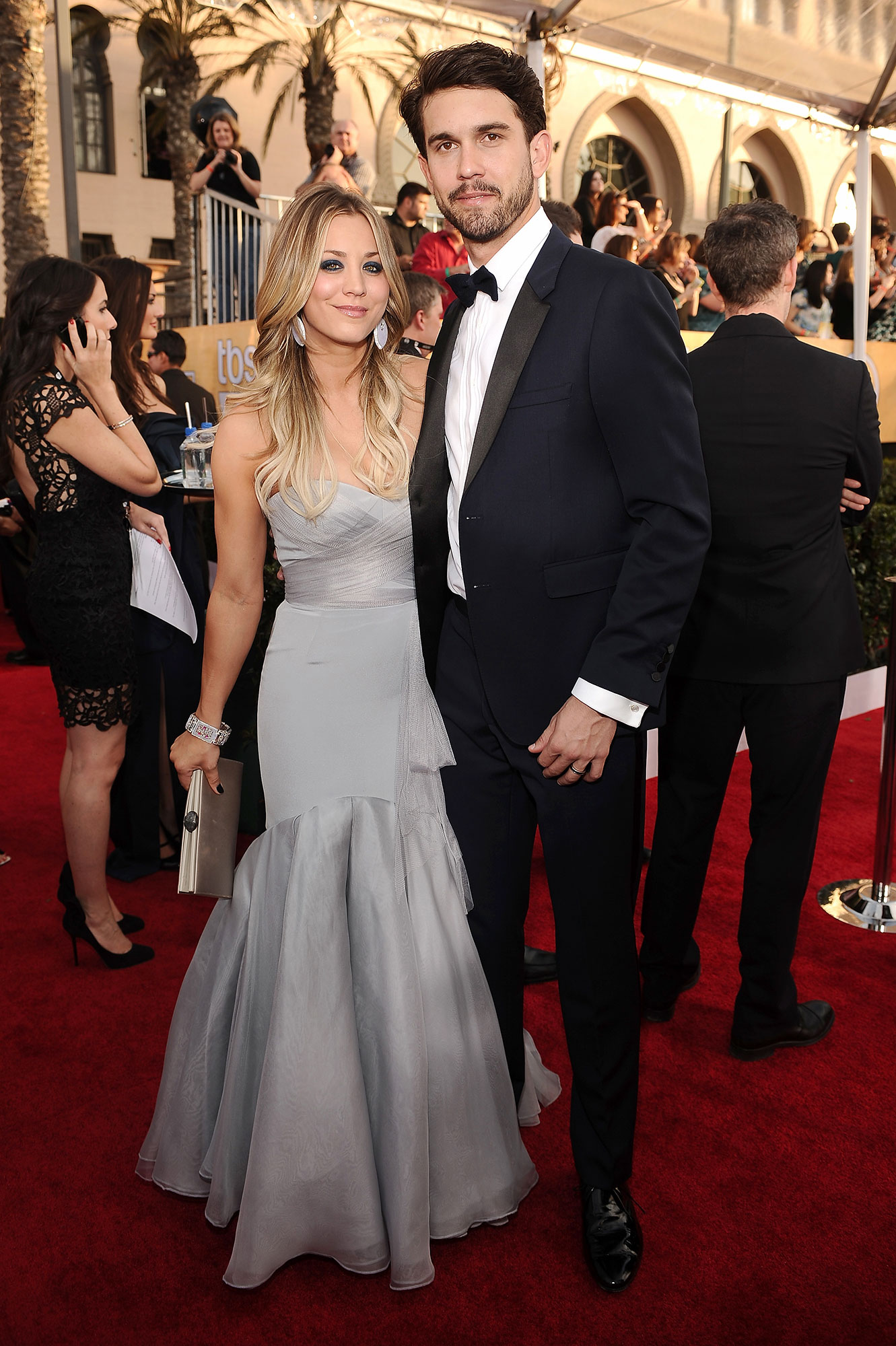 Kaley Cuoco and Ryan Sweeting - Engaged: September 2013 Married: December 31, 2013 Status: Divorced in May 2016; Cuoco is now married to Karl Cook