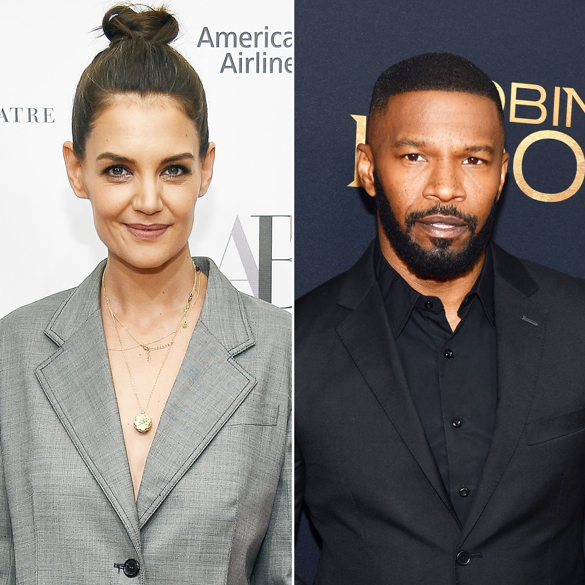 Katie Holmes Jamie Foxx Relationship Timeline Romantic Stroll - The twosome showcased their love once more when they were seen holding hands in the Upper West Side neighborhood of NYC. Holmes kept it casual in a gray sweatsuit, while Foxx rocked an all-black ensemble.