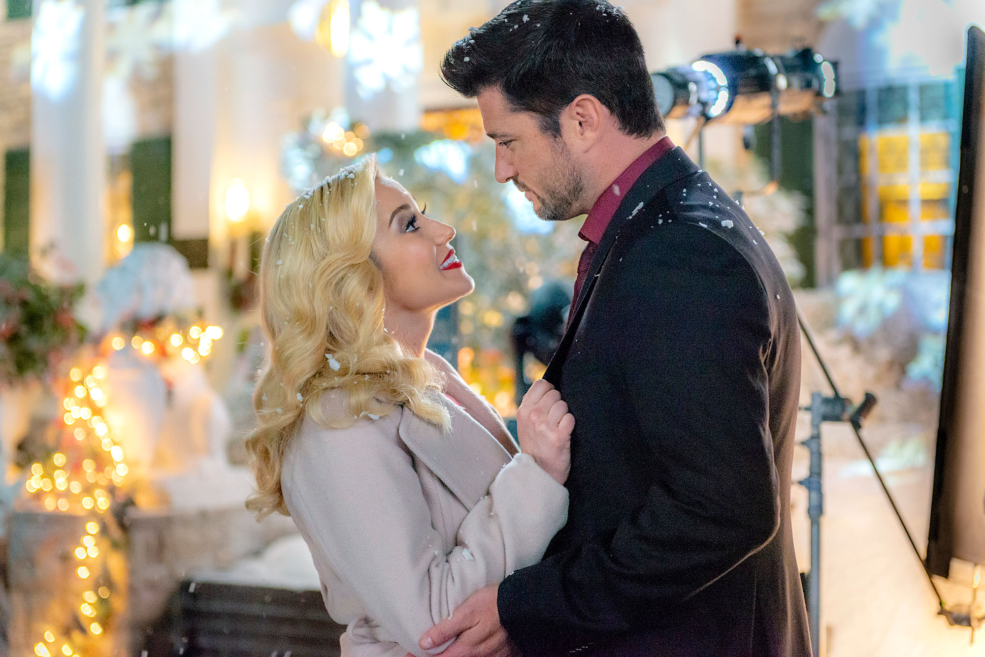 Kellie Pickler and Wes Brown in Christmas at Graceland - Kellie Pickler and Wes Brown in 'Christmas at Graceland.