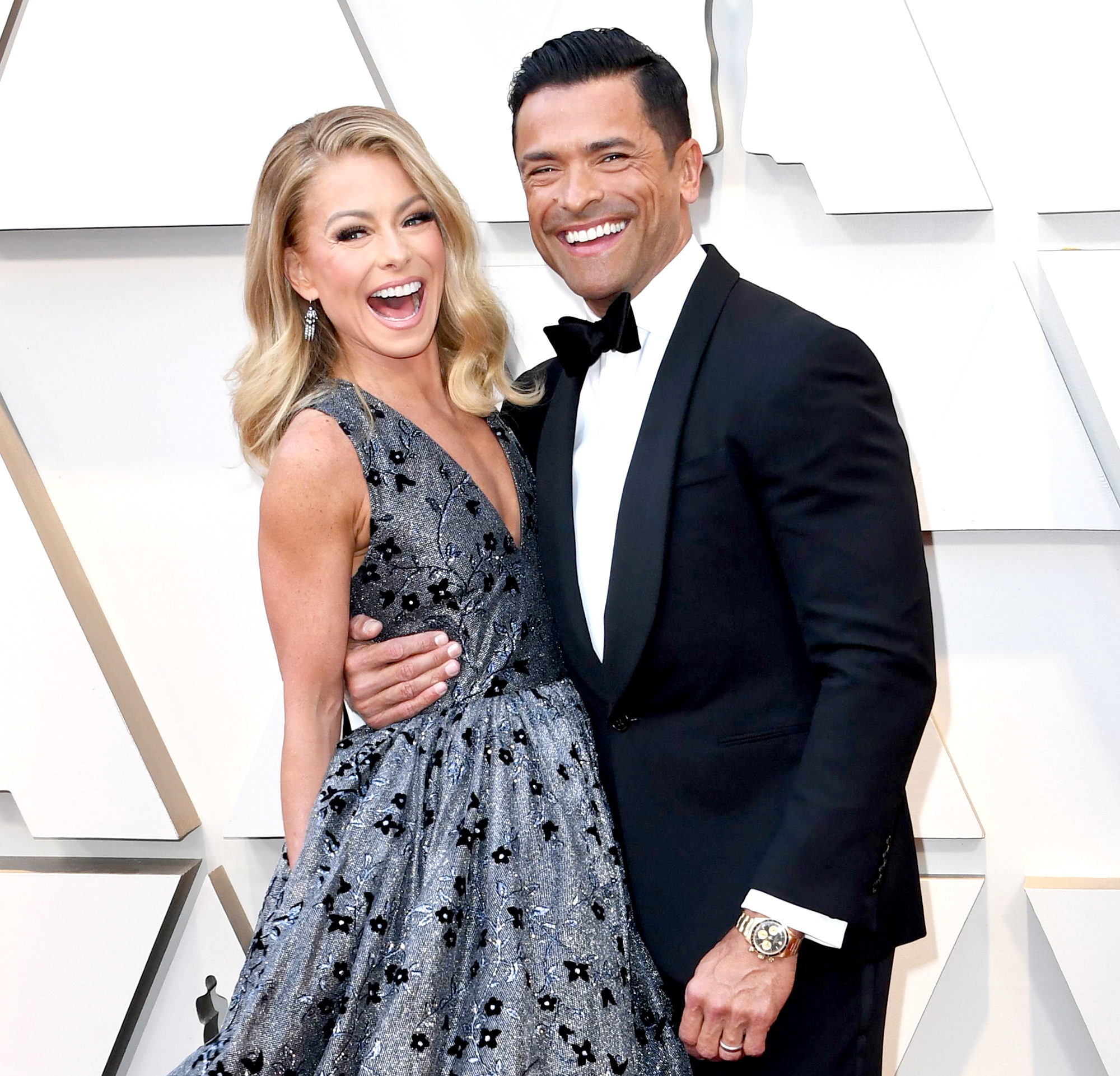 Kelly-Ripa-Mark-Consuelos-4th-Child - Kelly Ripa and Mark Consuelos arrive for the 91st Annual Academy Awards at the Dolby Theatre in Hollywood, California on February 24, 2019.