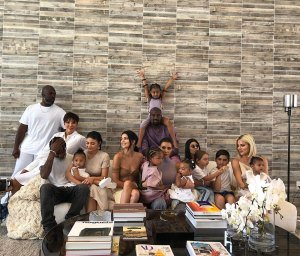 Kendall Jenner family photo pic Pregnancy Is in the Air