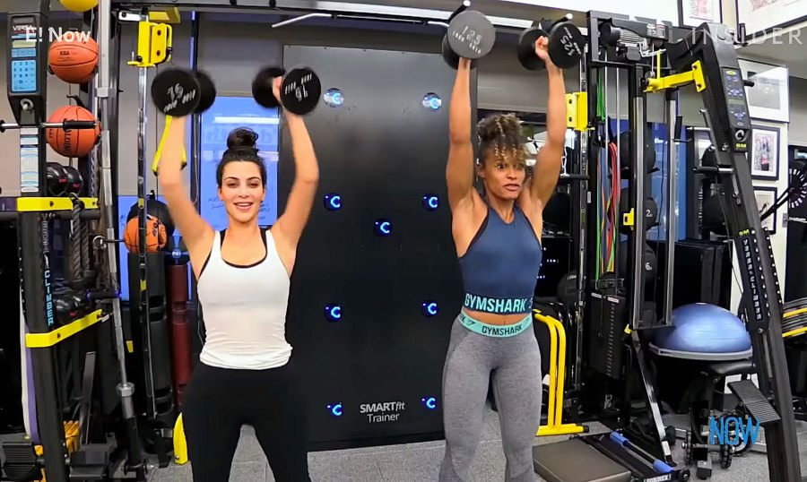 Kim K Debuts Shows Simple, Killer Move That Makes the StairMaster Harder