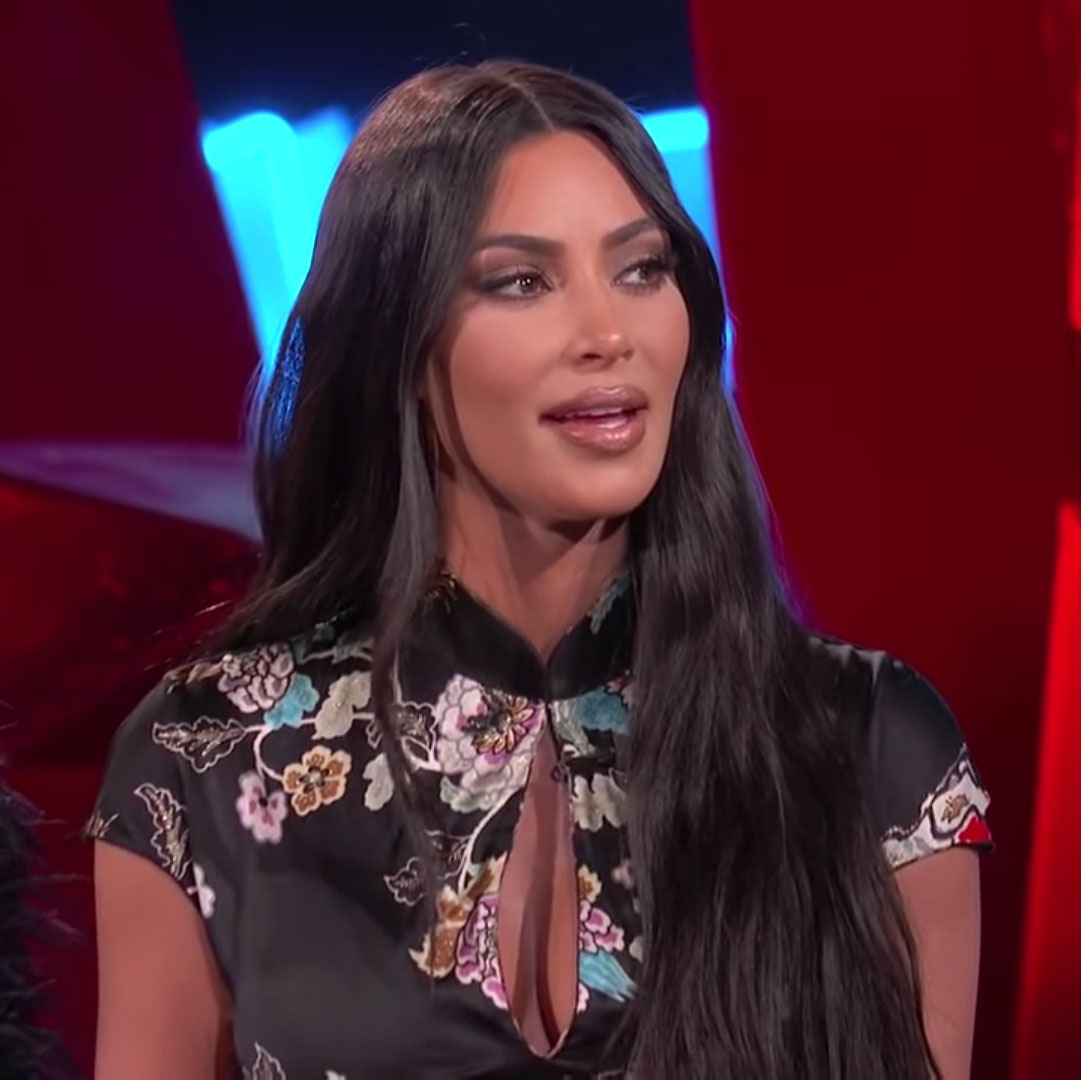 Kim Kardashian Is Considering Naming Baby No. 4 After This Family Member - Kim Kardashian on 'Jimmy Kimmel Live.