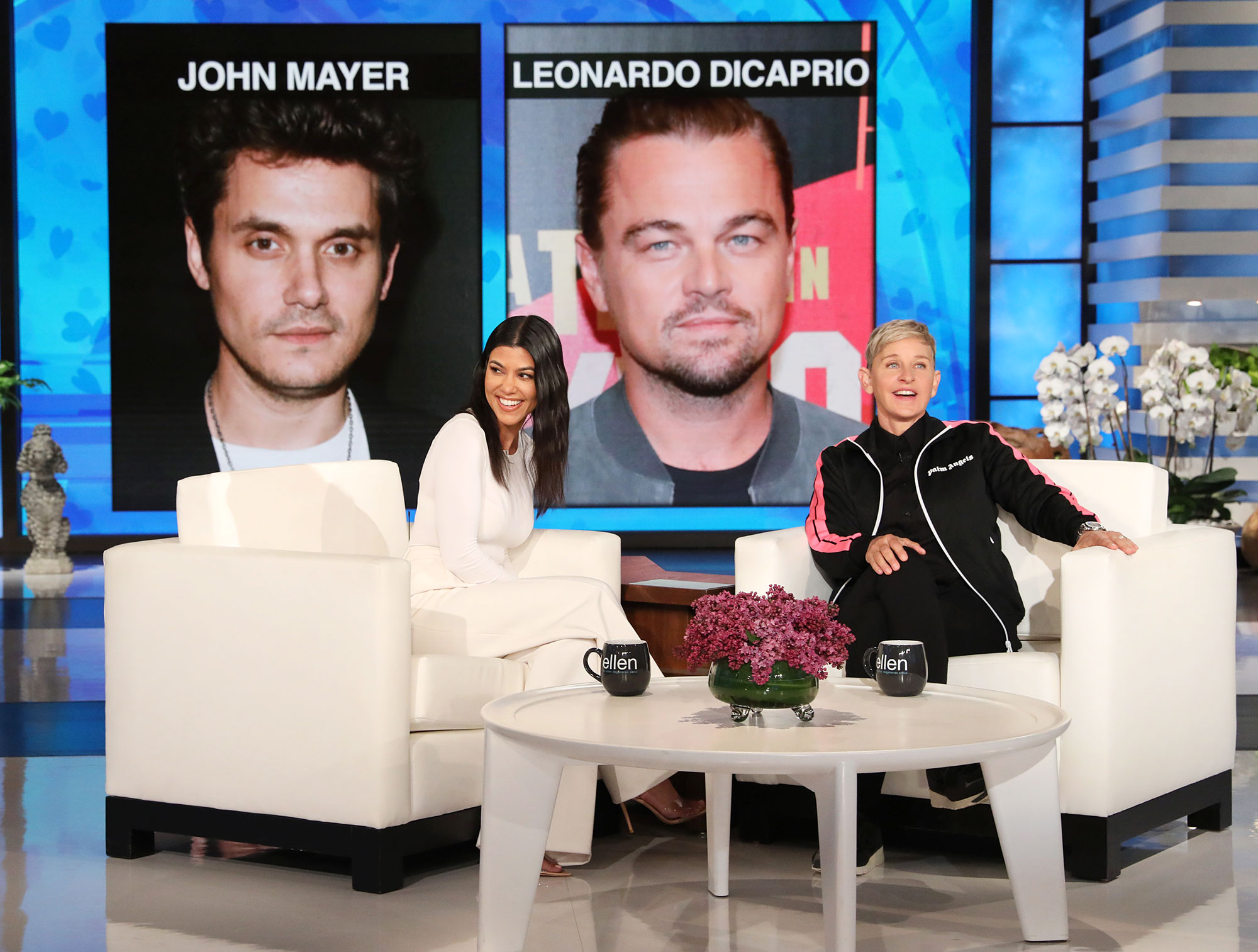 Kourtney Kardashian The Ellen DeGeneres Show Who Would You Rather John Mayer