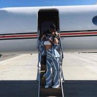 Kylie Jenner Travis Scott Kiss Coachella