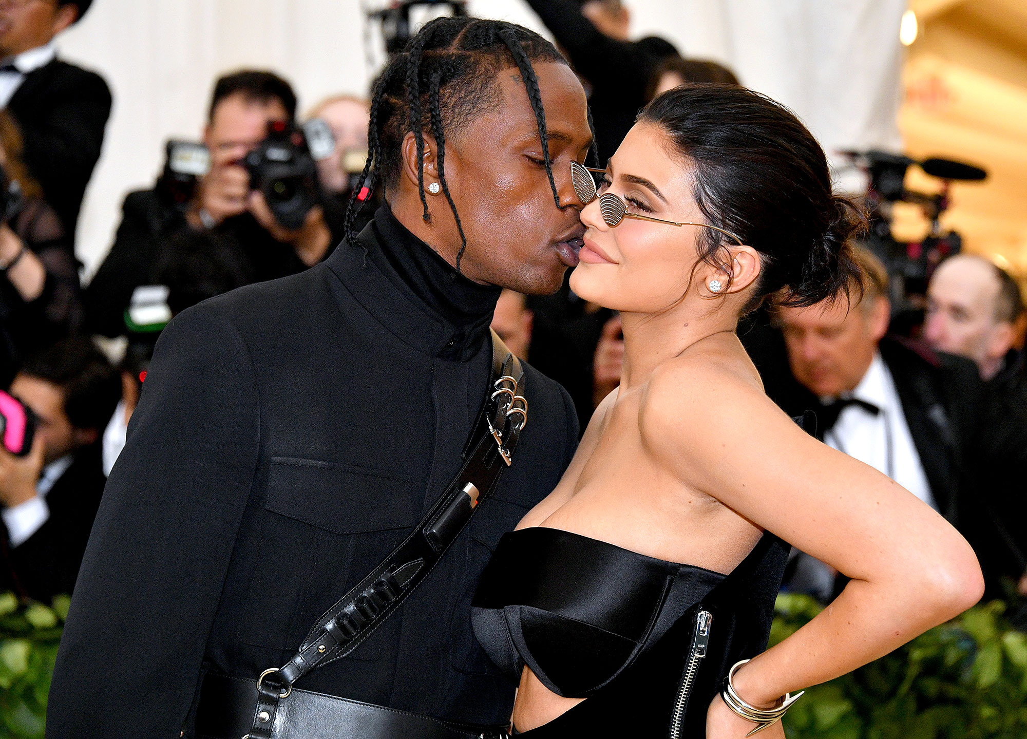 """Kylie and Travis Sweetest Quotes - Jenner paid tribute to her man during first Astroworld festival with a sweet Instagram post in November 2018. """"Only the people around you really know how hard you work,"""" she captioned a photo of Scott with Stormi."""
