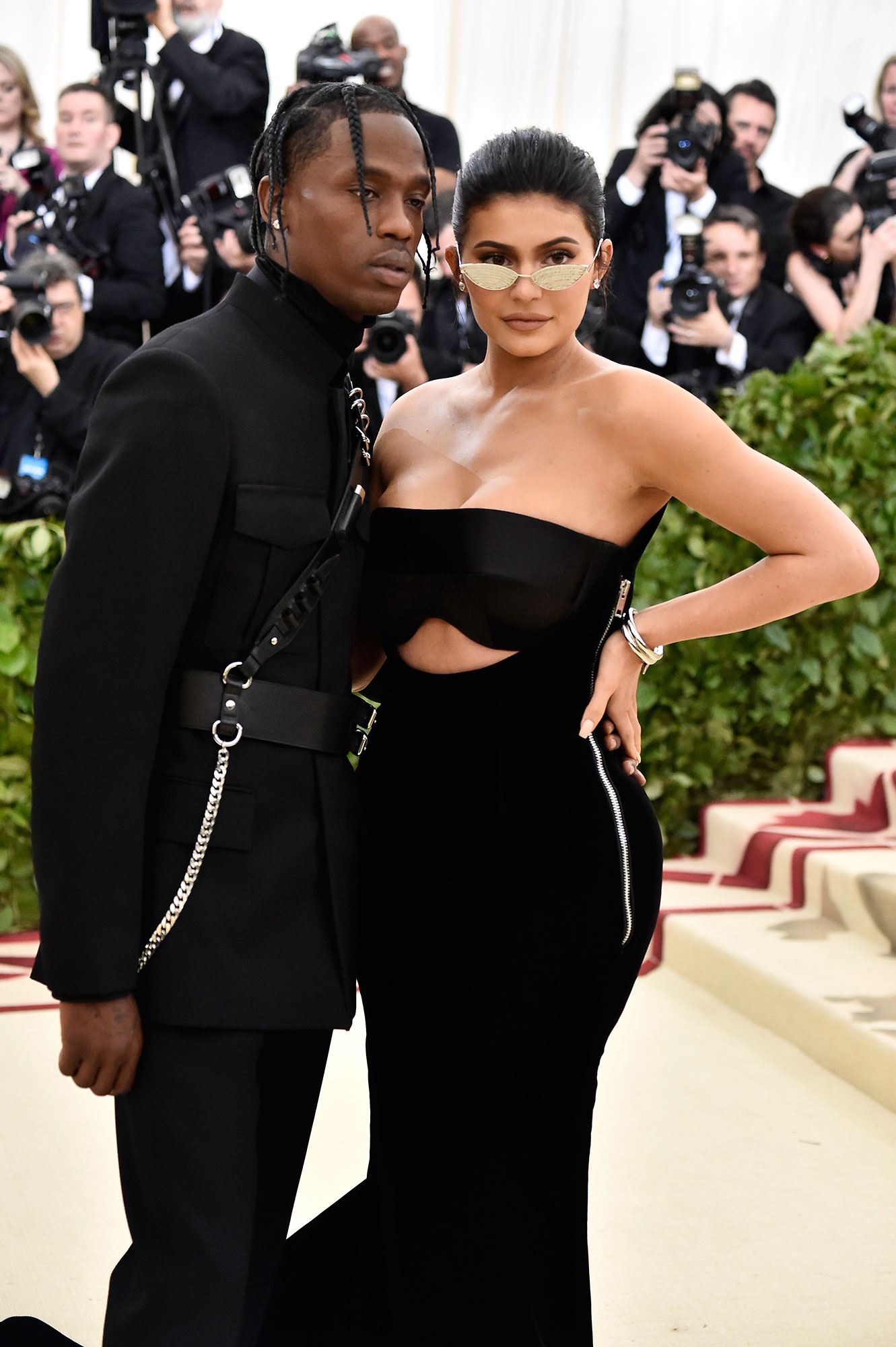 """Kylie and Travis Sweetest Quotes - The youngest KarJenner sister told Vogue Australia in August 2018 that the pair spent every night together after reports began to circulate that they lived apart. """"I just want to say that we never miss a night with each other. We go back and forth from my Calabasas house and the city home that we actually got together."""""""
