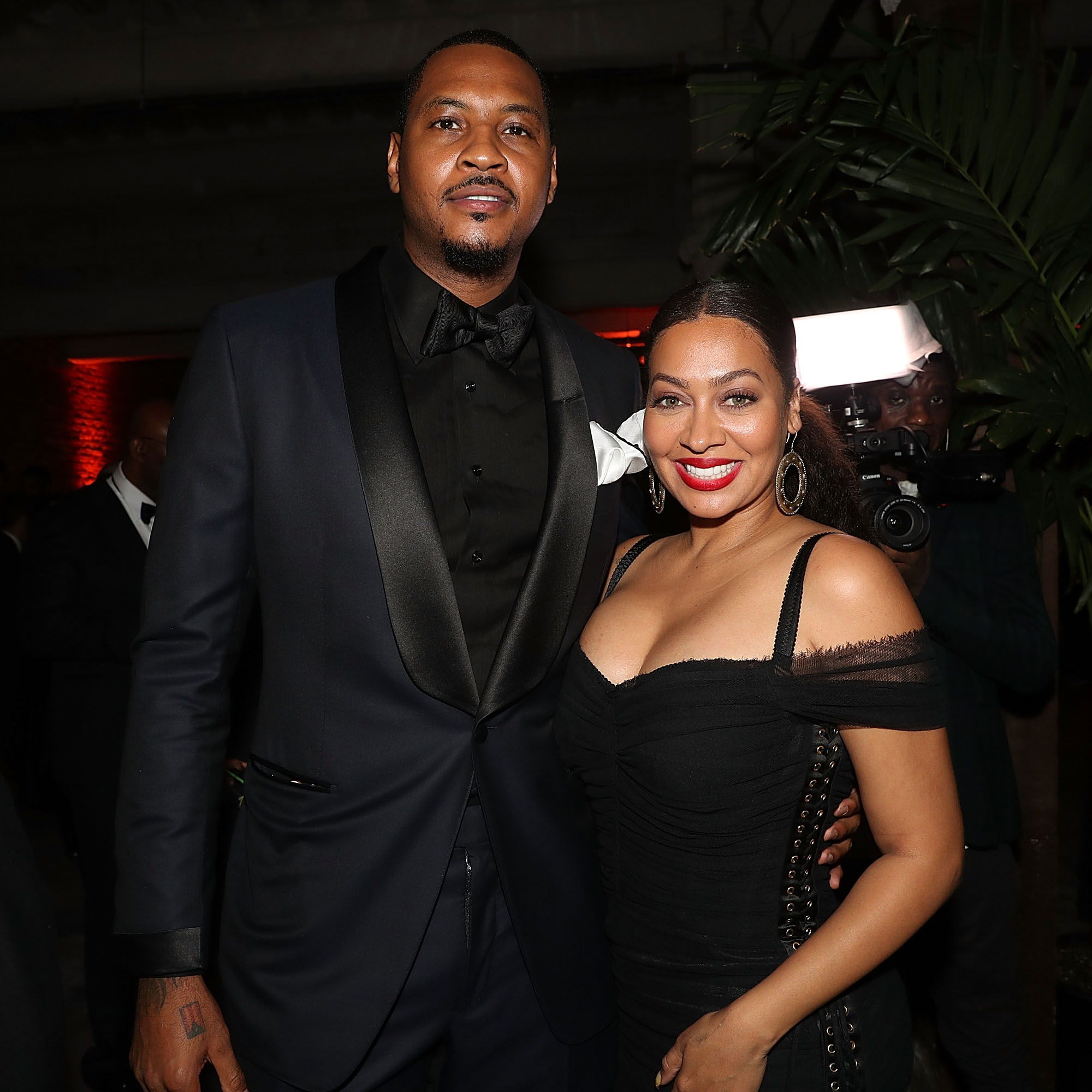 LaLa Anthony and Carmelo Anthony Do Not Not Have Plans for Baby No. 2 - Carmelo Anthony and Lala Anthony.