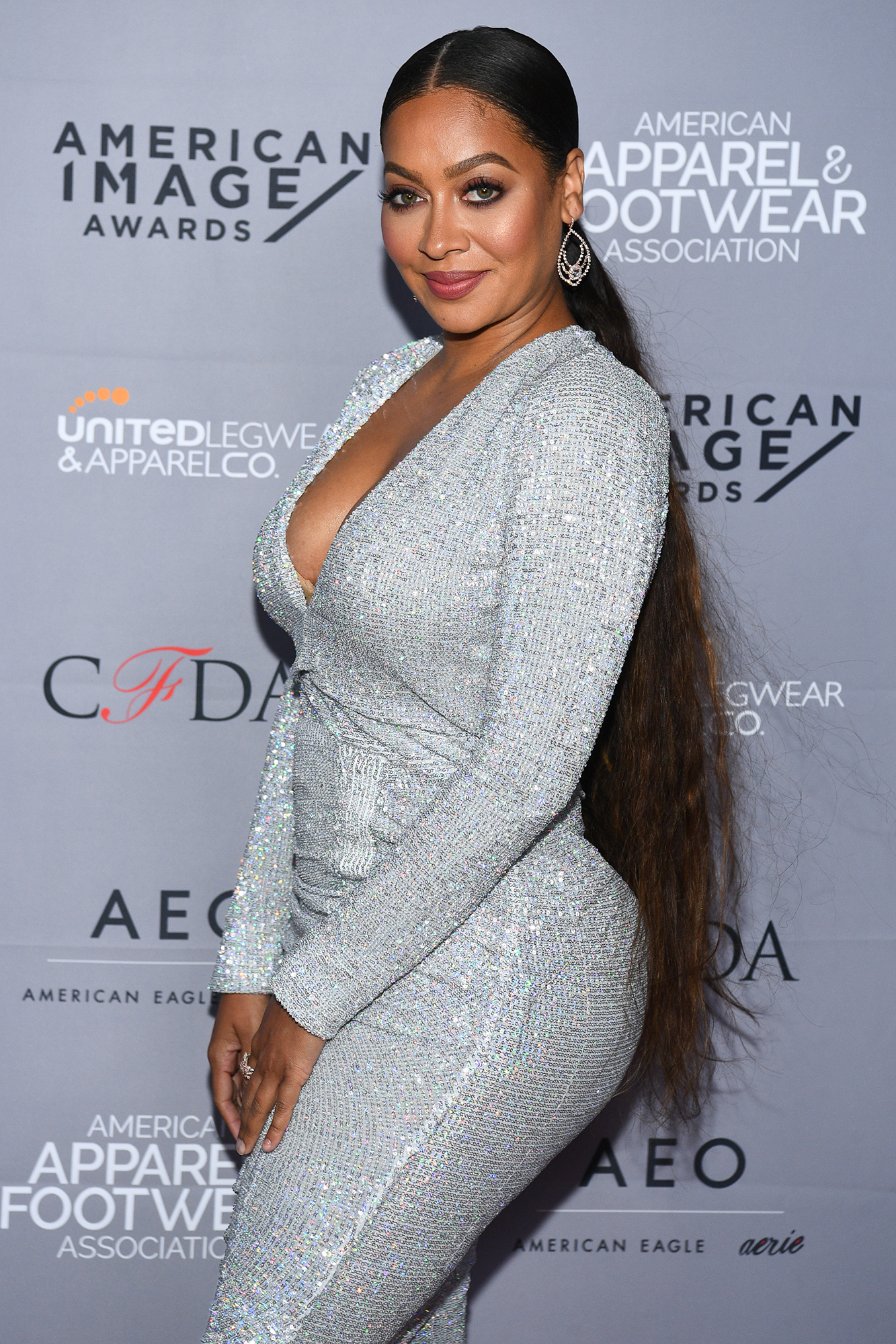 LaLa Anthony and Carmelo Anthony Do Not Not Have Plans for Baby No. 2 - La La Anthony attends the AAFA American Image Awards 2019 at The Plaza on April 15, 2019 in New York City.