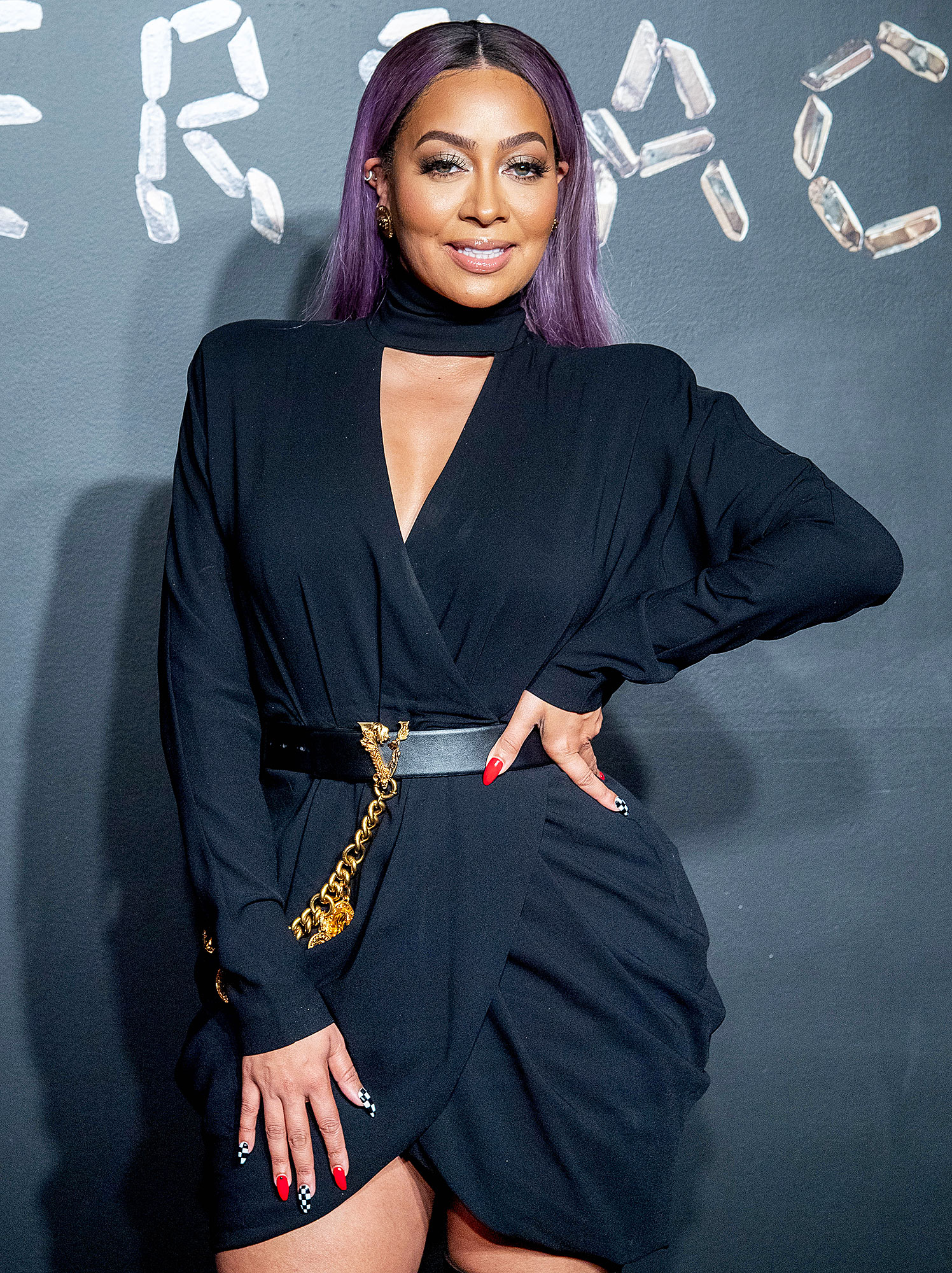 Lala Anthony Beauty Secrets - Lala Anthony attends the the Versace fall 2019 fashion show at the American Stock Exchange Building in lower Manhattan on December 02, 2018.