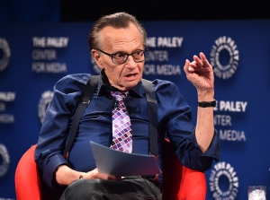 Larry King Doing OK After Heart Attack