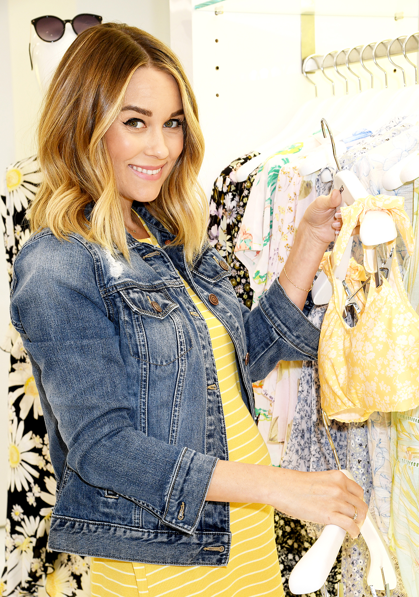 3f19ce6e7a Lauren-Conrad-Baby-Bump Lauren Conrad attends Kohl s LC Lauren Conrad  Spring Collection ...